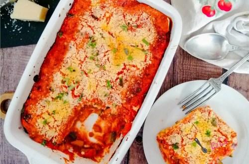 lasagnes légumes companion