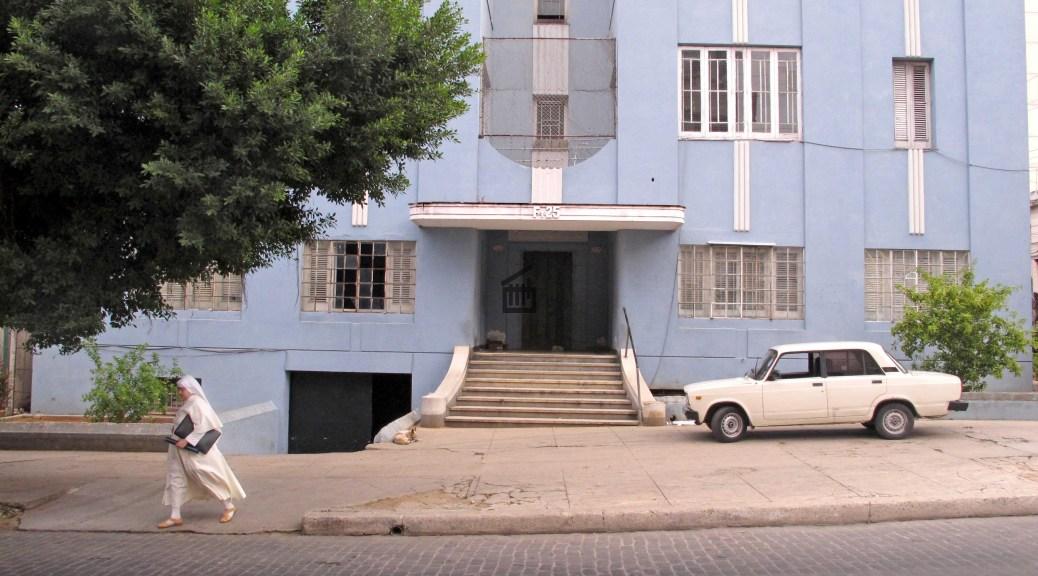 Une façade d'immeuble de La Havane