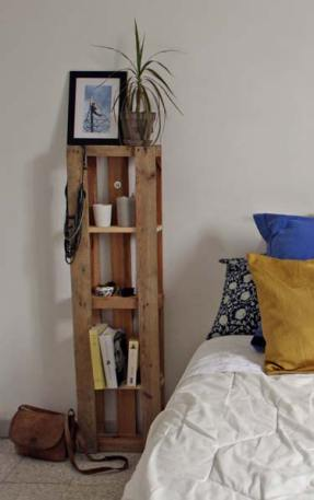 DIY - Meuble de chevet à partir d'une palette