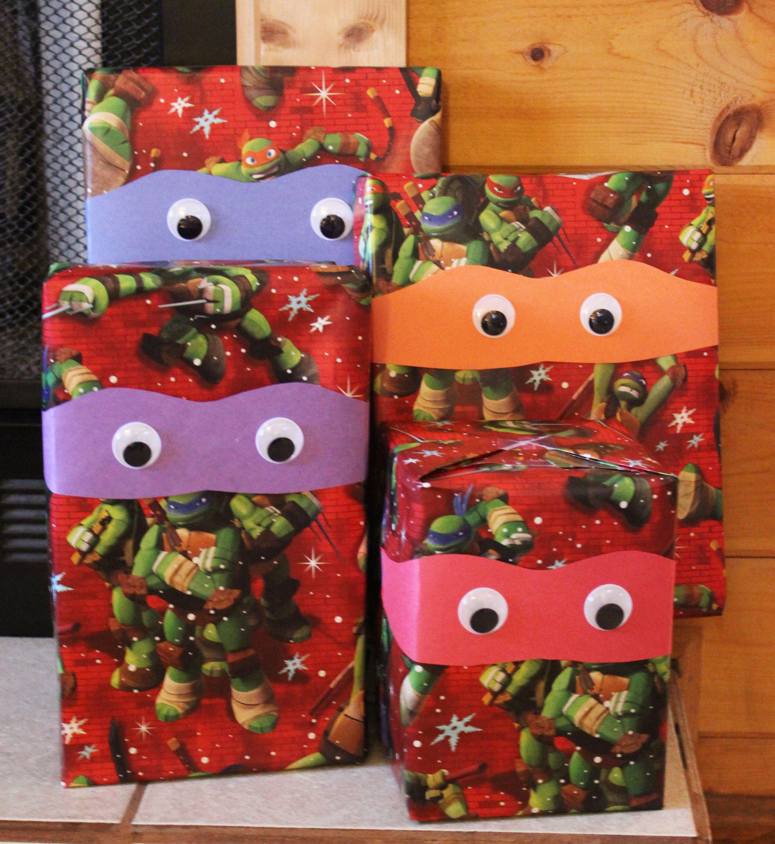 A Ninja Turtle Christmas - Lela Burris