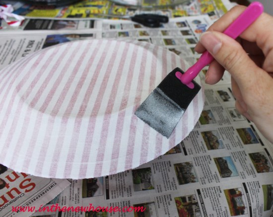cover fabric with modpodge