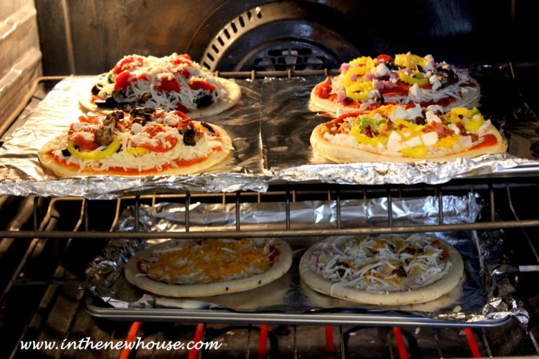 pizza bar cooking