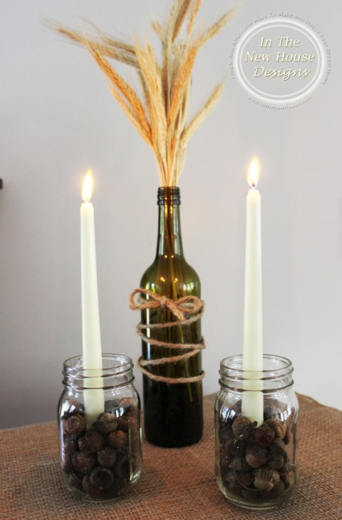 Make Your Own Fall Decor Using Common Household Items