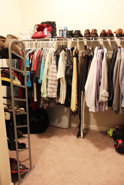 Closet Reorganization