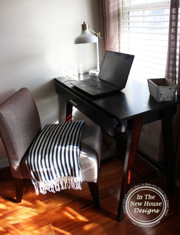 Writing desk from Target