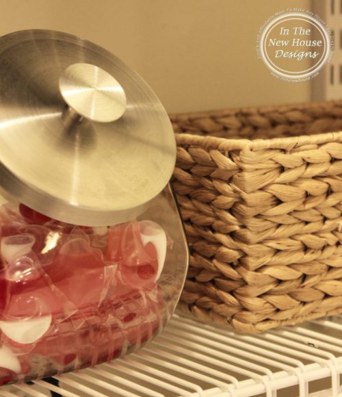 Store laundry pods in a candy jar