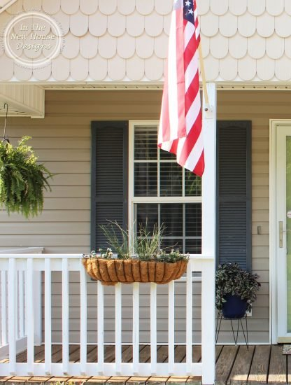 Old front porch shutters