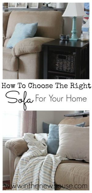 These tips will help you decide what kind of sofa is best for your home and family