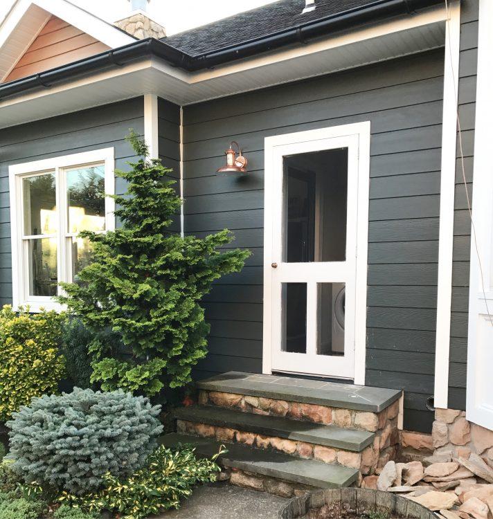 small porch stone steps