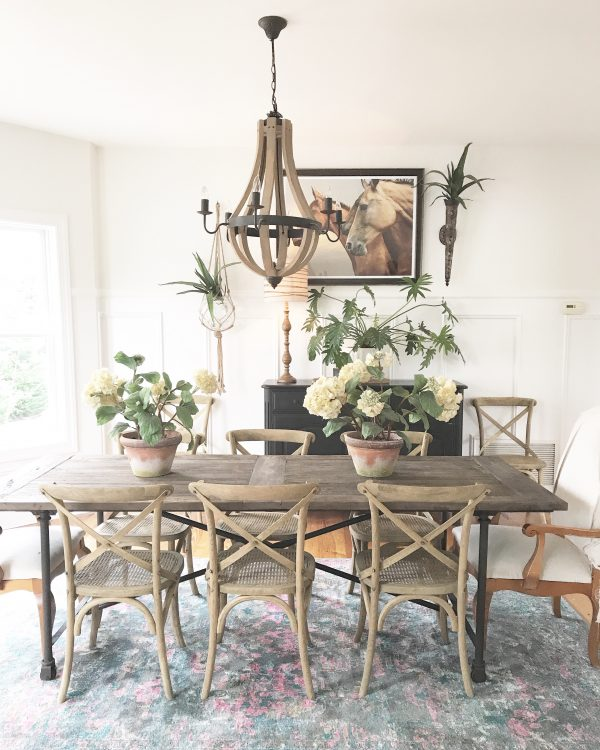 Rustic Farmhouse Dining Room