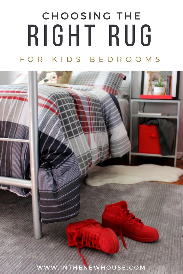 how to pick a rug for your kids bedroom