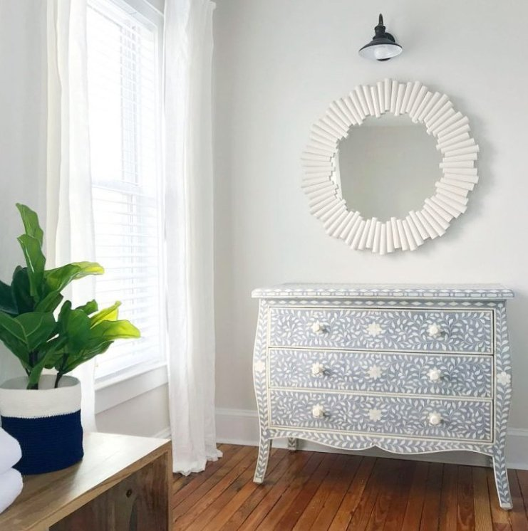 thrift store dresser makeover and shopping tips from Sherry Petersik Young House Love