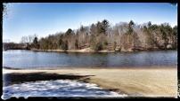 Winter Gives Way To Spring At The Lakes Near South Haven Michigan
