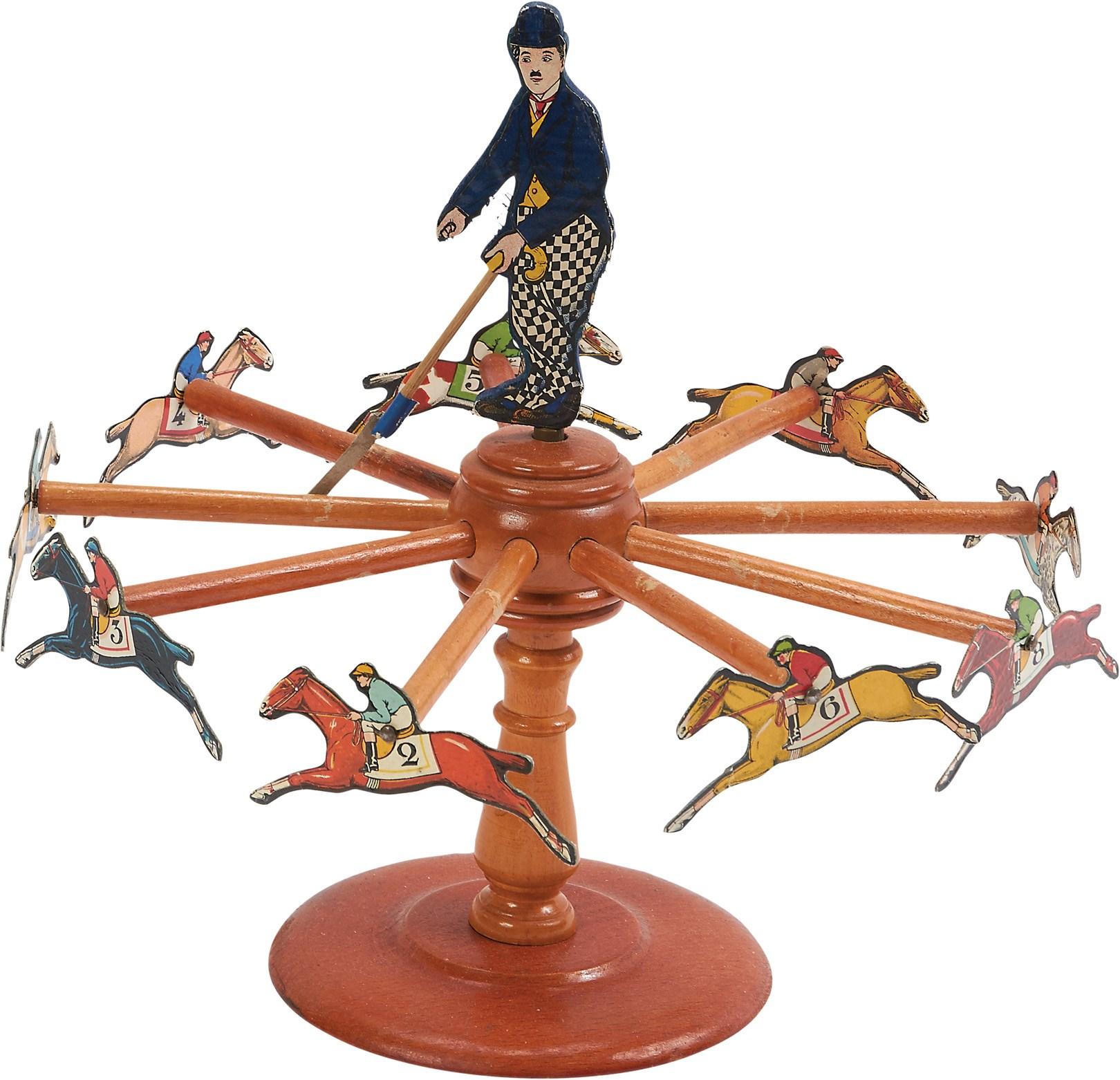 S Charlie Chaplin Eureka Horse Racing Game In