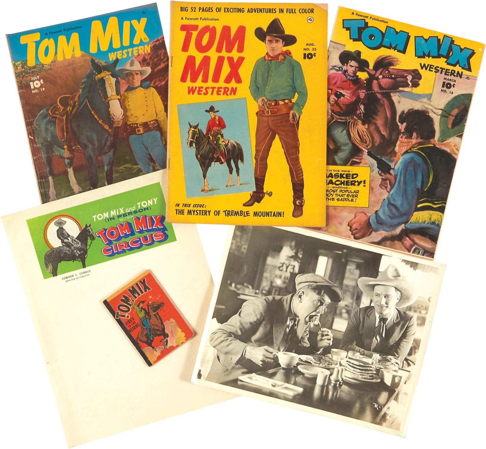 Amazing S 30s Tom Mix Scrap Book Amp More