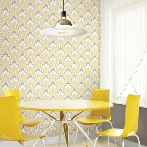Simple space 2 lola ogee bargello wallpaper roomset