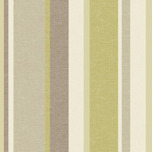 2535-20631 simple space 2 raya linen stripe wallpaper green taupe beige