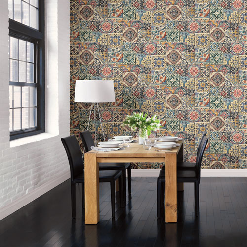 Marrakesh Tile Wallpaper  Lelands Wallpaper
