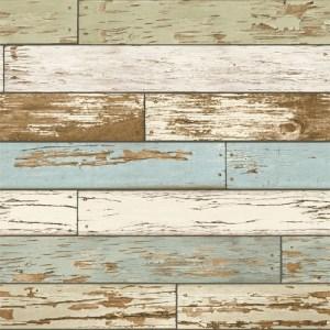 2701-22302 reclaimed scrap wood wallpaper sky blue