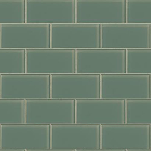 RK4467 urban chic grand central subway tile wallpaper aqua