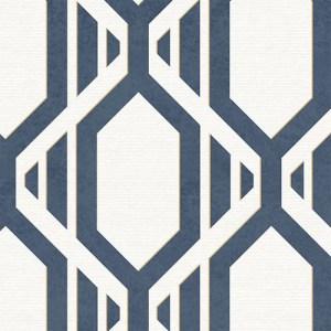 SH34547 shades graphic harlequin geometric wallpaper blue beige