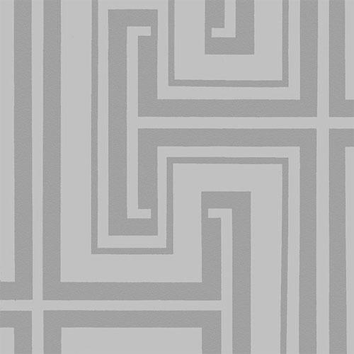 TU27128 shades graphic key wallpaper gray metallic platinum