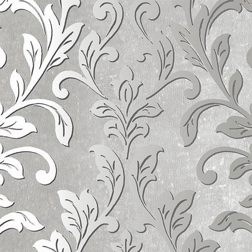 TX34843 texture style 2 contemporary ombre damask wallpaper gray