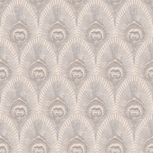VL214131 obsession van luit peacock wallpaper taupe