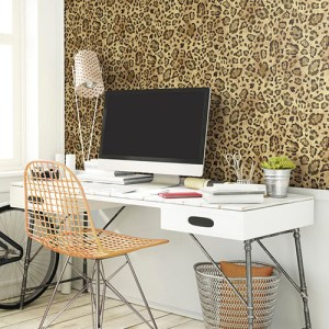 Urban chic jungle chic wallpaper roomset
