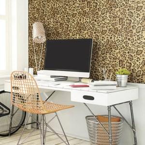 Urban chic jungle chic wallpaper roomset