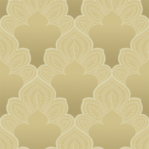 GA31215 gatsby filigree damask wallpaper gold