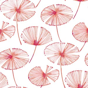 2656-004006 Catalina Paradise Fronds Wallpaper Pink