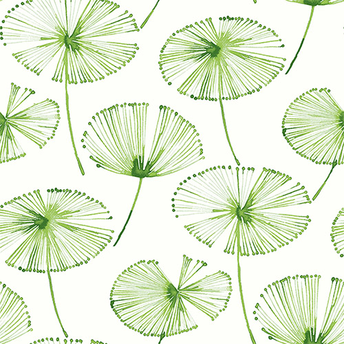 2656-004024 Catalina Paradise Fronds Wallpaper Green