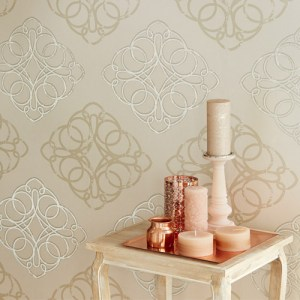 Venue Mikhaila Medallion Wallpaper Roomset