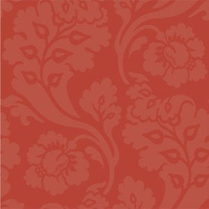 WM2545 Williamsburg Pembroke Sure Strip Wallpaper Red