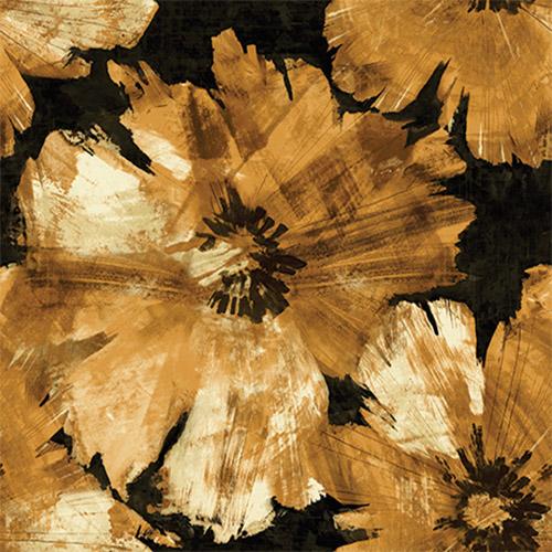 Curie Large Floral Wallpaper  Lelands Wallpaper