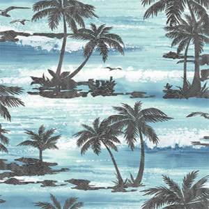 AV51602 Seabrook Avant Garde Mosely Tropical Wallpaper Blue