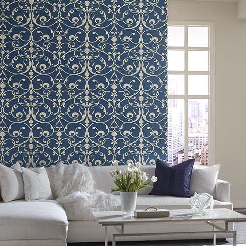 Dream On Contessa Wallpaper Roomset