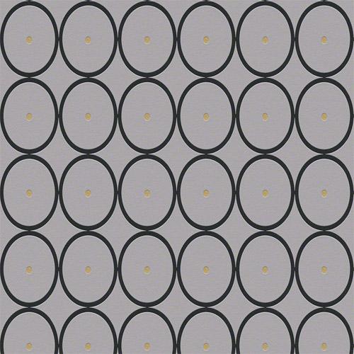 940191 Raffi My Home Bamboo Circles Wallpaper Gray