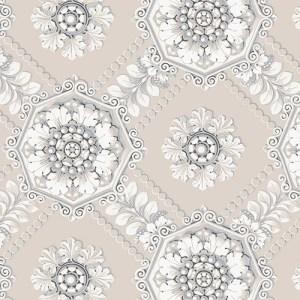CS35629 Norwall Classic Silks 2 Plaster Relief Wallpaper Gray
