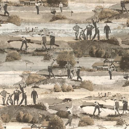 MW9230 Carey Lind Menswear Old CourseSure Strip Wallpaper Slate