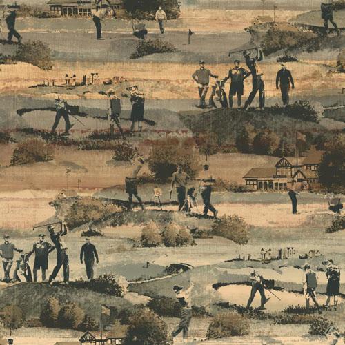 MW9231 Carey Lind Menswear Old Course Sure Strip Wallpaper Chino