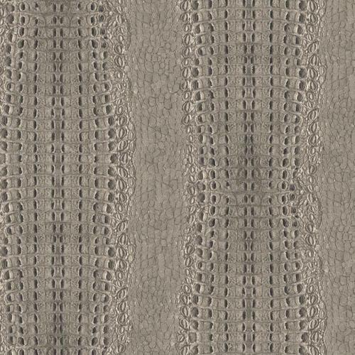 MW9253 Carey Lind Menswear Crocodile Sure Strip Wallpaper Fog