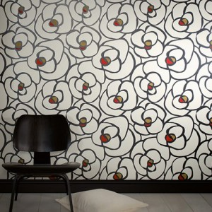 Raffi My Home Rose Contour Wallpaper Roomset