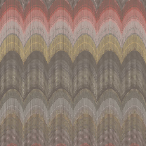 2671-22404 Brewster Kenneth James Azmaara August Wave Wallpaper Brown