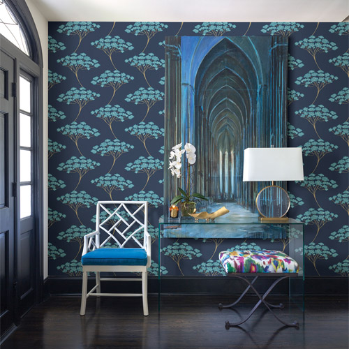 26791 22409 Brewster Kenneth James Azmaara Banyan Tree Wallpaper Roomset