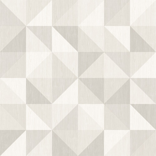 2697-22625 Brewster Wallcoverings Geometrie Puzzle Geometric Wallpaper Grey