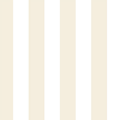 CG28810 Patton Wallcoverings Rose Garden 2 Classic Stripe Wallpaper Tan