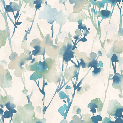 LG91402 Seabrook Wallcoverings Lugano Faravel Wallpaper Blue