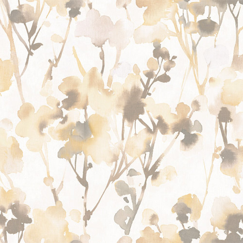 LG91405 Seabrook Wallcoverings Lugano Faravel Wallpaper Yellow